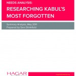 Final HAGAR Afghanistan Research Cover