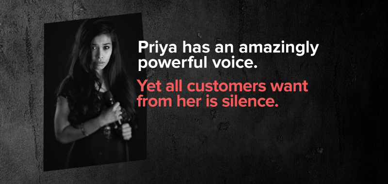 Priya Has An Amazingly Powerful Voice