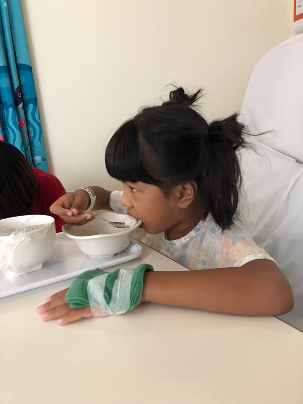 Famished Channey after MRI