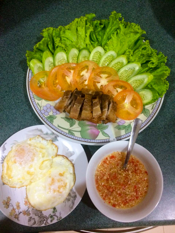 Khmer fare cooked by Thyda