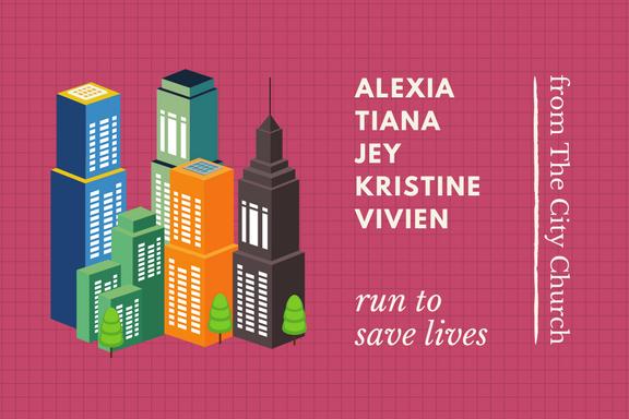 Alexia Tiana Jey Kristine Vivien run for freedom
