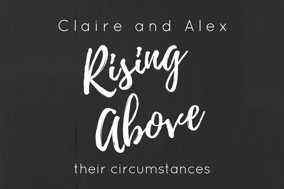 Claire and Alex run for freedom