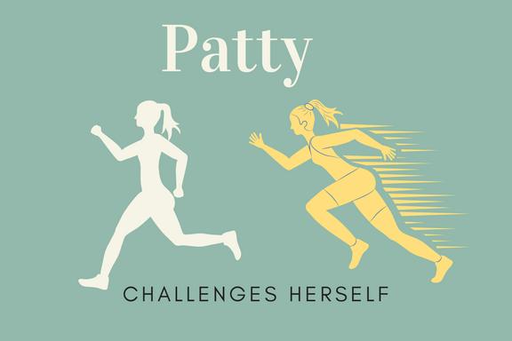 Patty runs for freedom