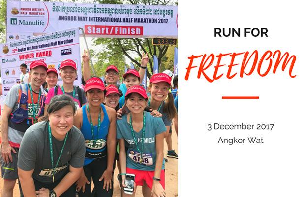 Run for Freedom with HAGAR