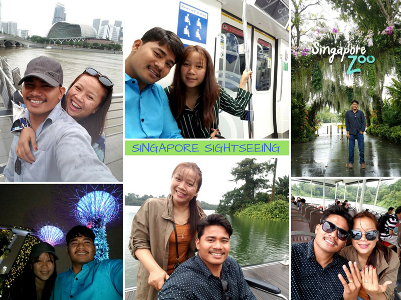 Longdy and Ah Ny Sightseeing in Singapore