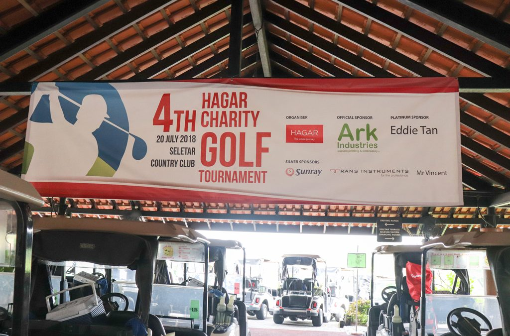 Swing for Good at the HAGAR Charity Golf 2018