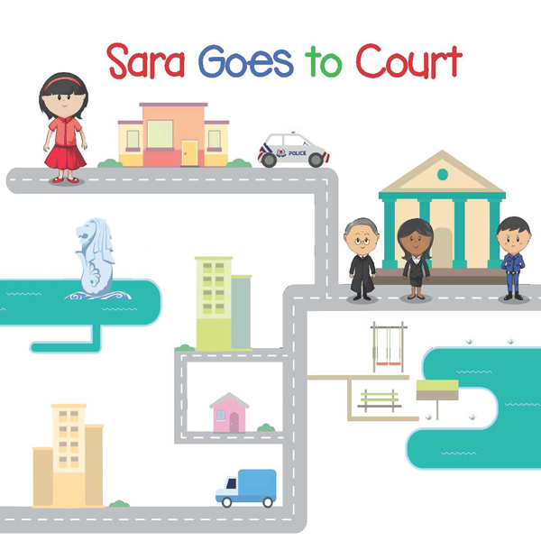 Sara Goes to Court_Cover_Picture Book for Child Witness