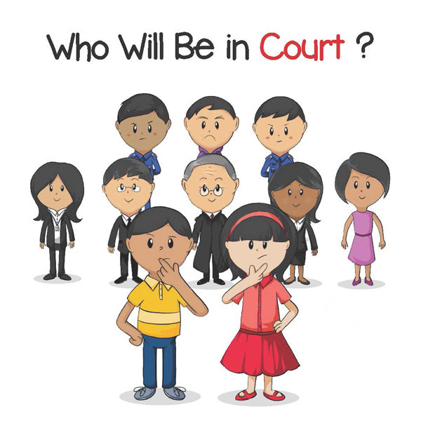 Who Will Be in Court_Cover_Picture Book for Child Witness