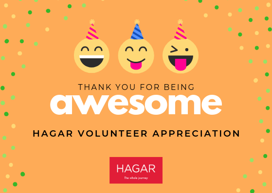 HAGAR Volunteer Appreciation 2018